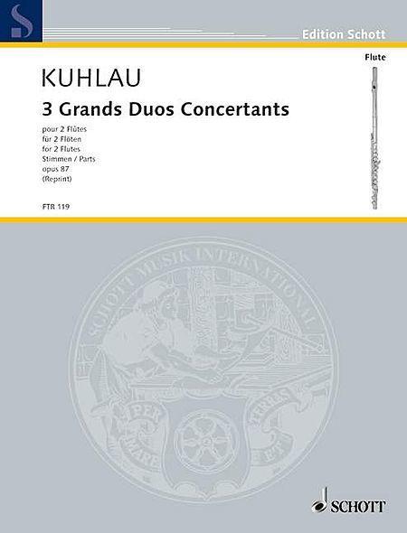 Three Grands Duos Concertants op. 87