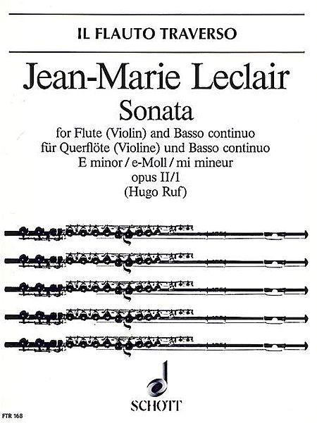 Sonata E minor op. 2/1
