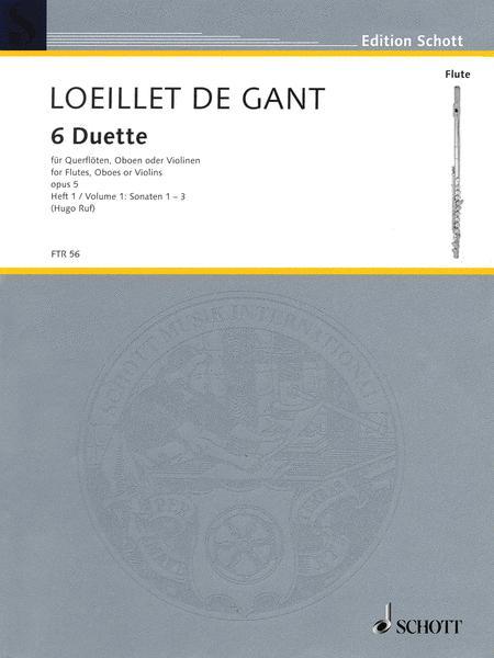 Six Duets op. 5 Vol. 1