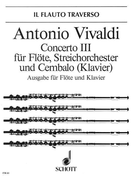 Concerto No. 3 D major op. 10/3 RV 428/PV 155