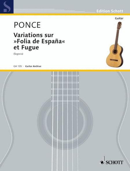 Variations on Folia de Espana and Fugue