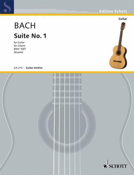 Cello-Suite No. 1, BWV 1007 (for Guitar)