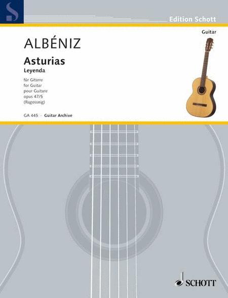 Asturias op. 47/5