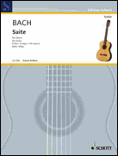 Suite for Lute E major BWV 1006a