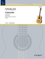 Concerto in G Major for 3 Guitars