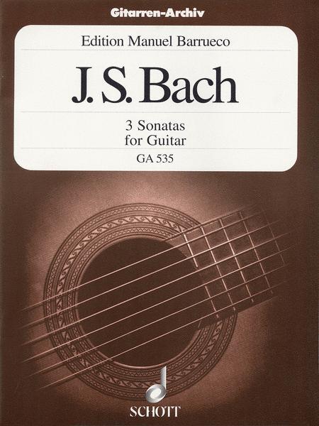3 Sonatas BWV 1001/1003/1005