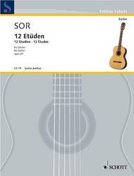 12 Studies op. 29