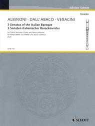 3 Sonatas of the Italian Baroque