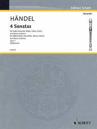 4 Sonatas: Op. 1 Complete