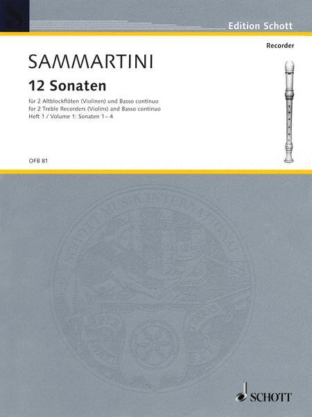 Twelve Sonatas Band 1