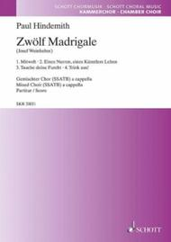 12 Madrigals, Volume 1