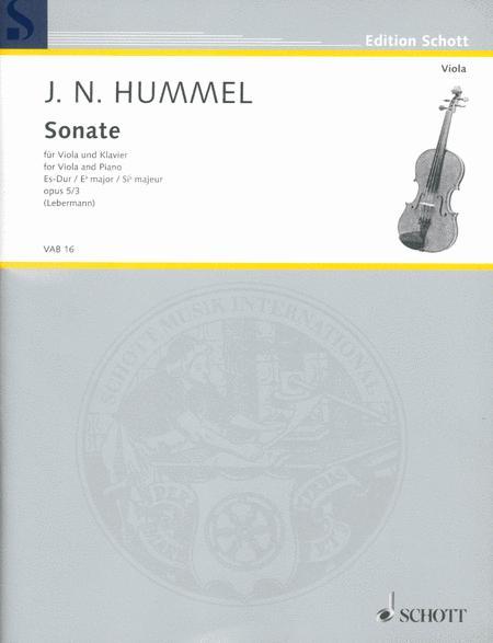 Sonata Eb Major op. 5/3