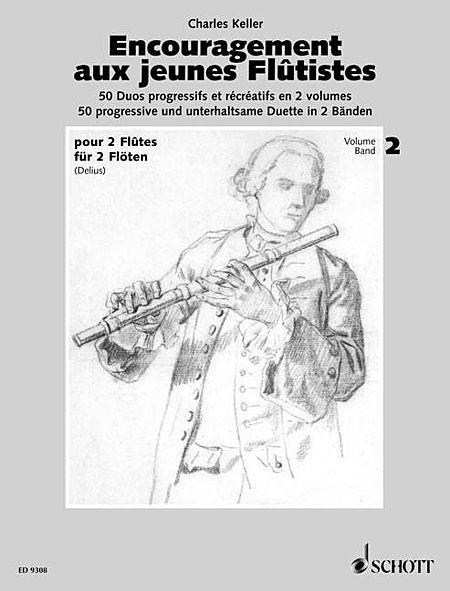 Encouragement for young flautists op. 62 Vol. 2