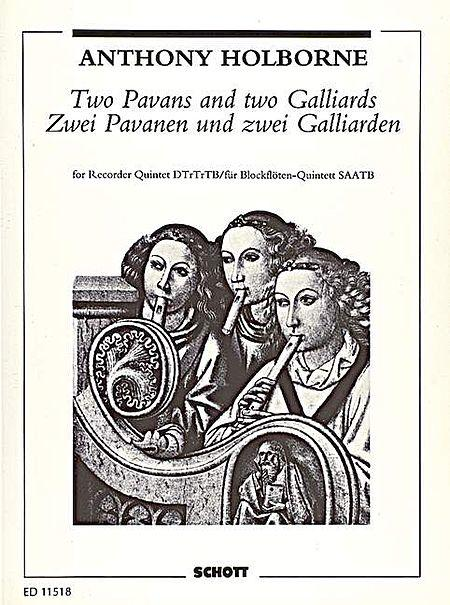 Two Pavans and two Galliards