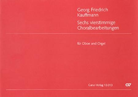 Kauffmann: Six four-part Chorale Arrangements