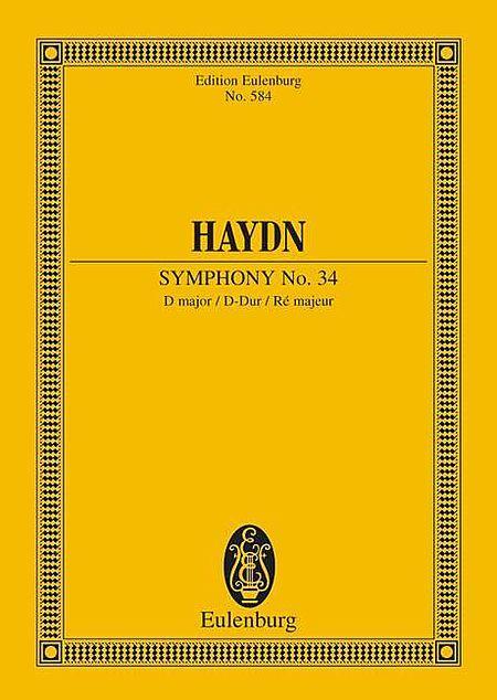 Symphony No. 34 D major Hob. I: 34