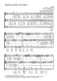 All praise to you, Lord Jesus Christ (Gelobet seist du, Jesu Christ)