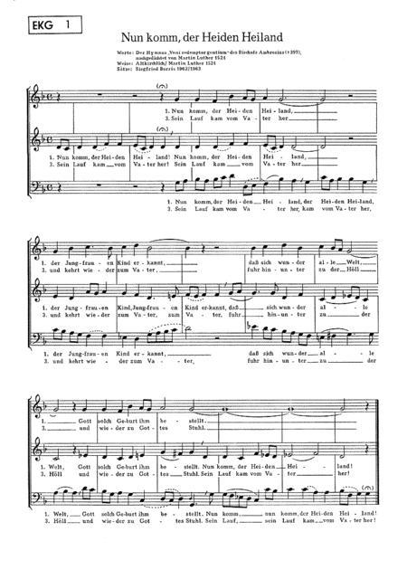 Kirchenliedsatze mit einer Mannerstimme. Varia Bd. 1