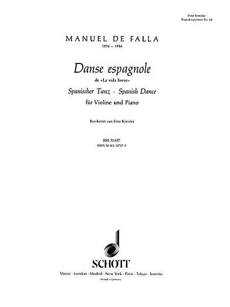 Spanish Dance (Danse Espagnole)