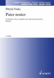 Vasks Pater Noster Satb.chor Cappella