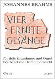 Vier ernste Gesange op. 121 (arr Bornefeld)