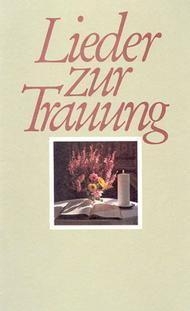 Lieder Zur Trauung Sheet Music By Johann Cruger Michael Weisse