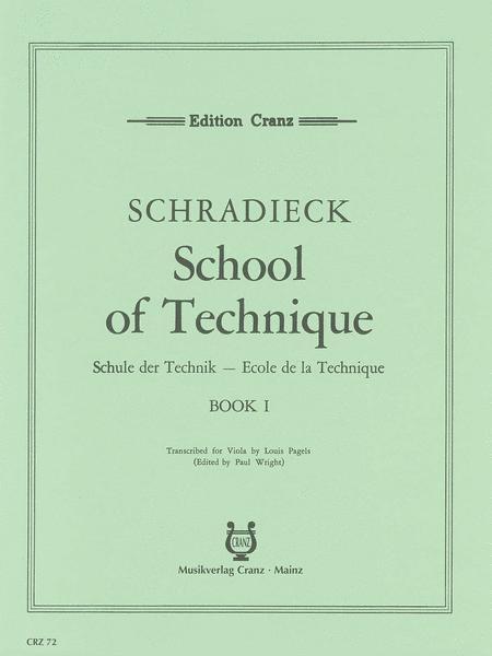 School of Viola Technique Band 1
