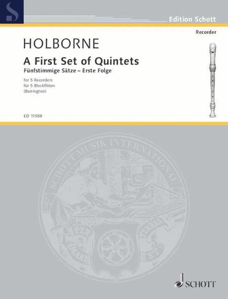 A First Set of Quintets Vol. 1