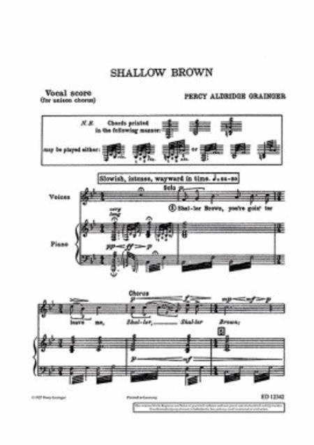 Shallow Brown
