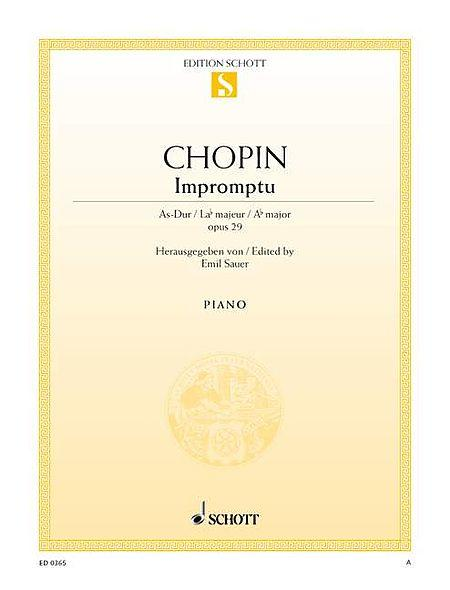 Impromptu Op. 29 in A-flat Major