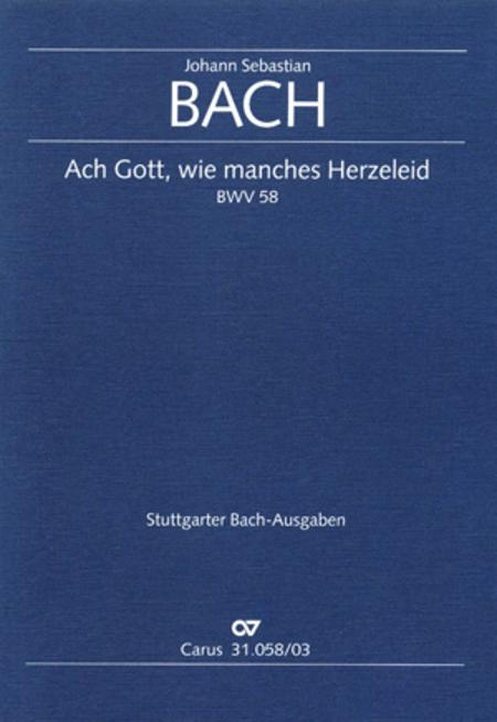 O God, what glut of care and pain (Ach Gott, wie manches Herzeleid)