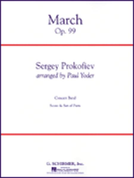 March Op. 99 Condensed Score