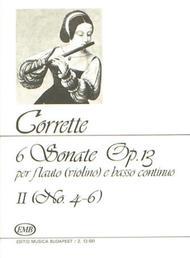 6 Sonate per flauto (violino) e basso continuo