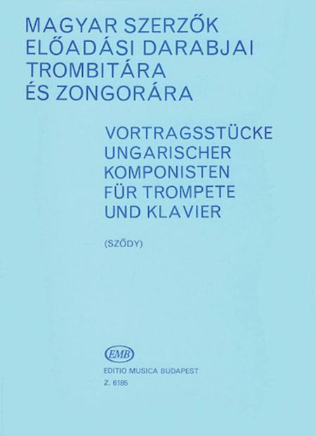 Performance Pieces By Hungarian Composers Trumpet Piano