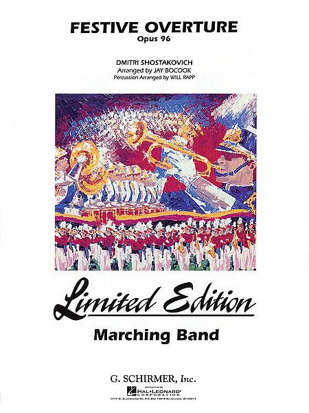 Festive Overture - Marching Band - Score