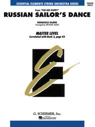 Russian Sailor's Dance - Ee String Series (master) - Score Only