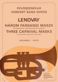 Three Carnival Masks