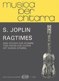 Ragtime. Two Pieces