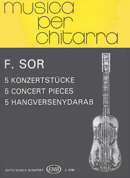 5 Konzertstucke fur Gitarre