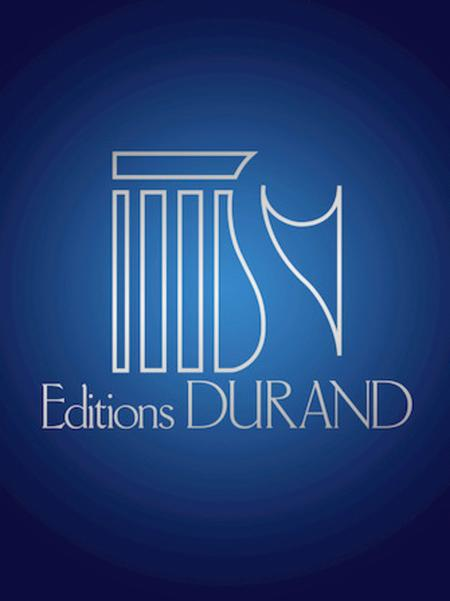 Trois Danses 2 Pianos 4 Hands Score (orig For Orch) Transcr By Durufle