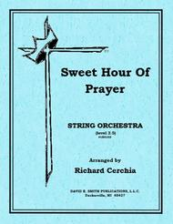 Sweet Hour Of Prayer (B set)