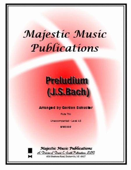 Preludium (J.S. Bach) (unaccompanied)
