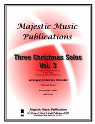Three Christmas Solos, Clar. Vol. 3