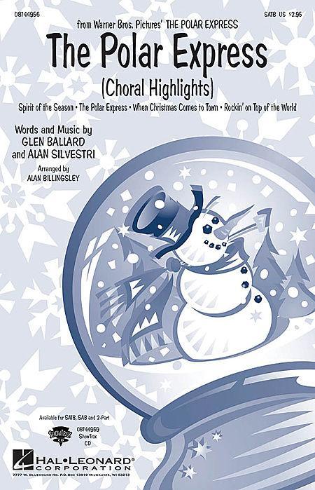 The Polar Express (Choral Highlights) - ShowTrax CD