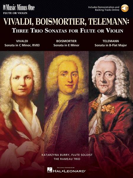 3 Trio Sonatas: Vivaldi, Boismorter and Telemann