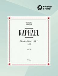 10 Mannerchore op. 78, Heft II