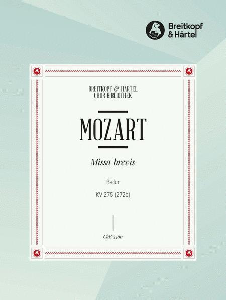 Missa brevis in Bb major K. 275 (272b)