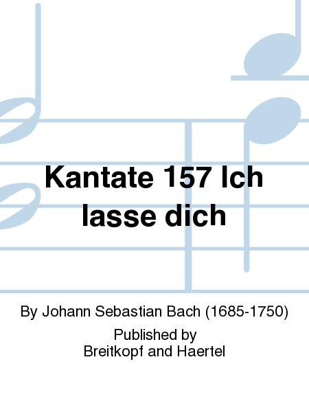 Cantata BWV 157 Ich lasse dich nicht