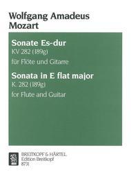Sonate Es-dur KV 282 (189g)