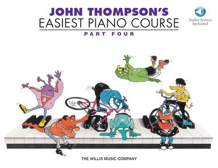 John Thompson's Easiest Piano Course - Part Four (with CD)